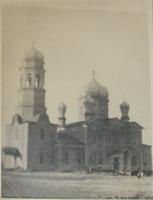 Архангельская церковь с. Жемковки, фото 1948 года